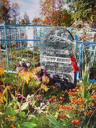 Памятник на могиле Г. Ахунова