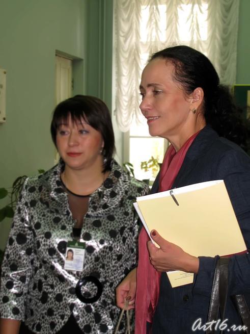 Гульчачак Назипова с участниками конференции::Форум 2010