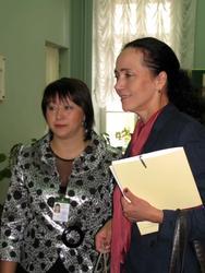Гульчачак Назипова с участниками конференции
