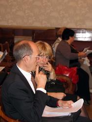 Перед расширенным заседанием Президиума Союза музеев России и ИКОМ России