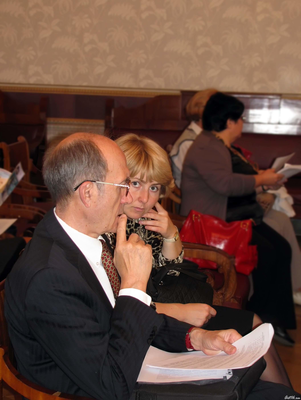 Перед расширенным заседанием Президиума Союза музеев России и ИКОМ России ::Форум 2010