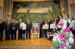 Алмас Назиров с писателями РТ и лауреатами литературной премии им. Г.Ахунова