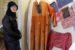 Наиля Ахунова в Арском краеведческом музее