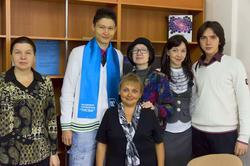 Гости Алатыря перед концертом в  гимназии №6 им. Академика А.Н.Крылова