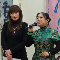 Гостья из Китая, студентка КГУ и переводчик