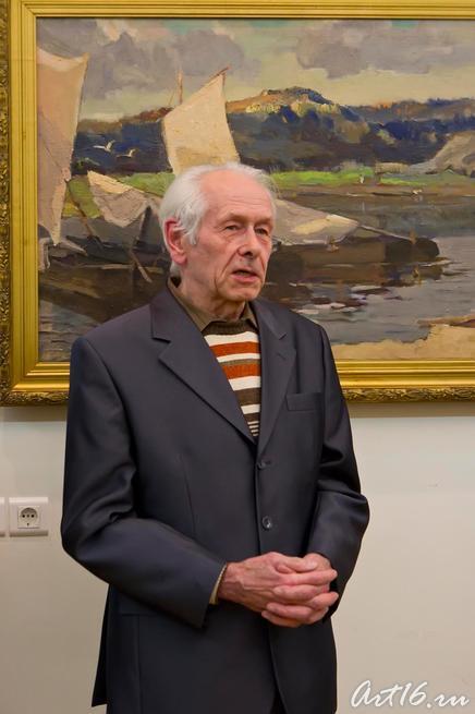 А.О.Визель:: Выставка «Н.М.Сокольский. Живопись. Графика»