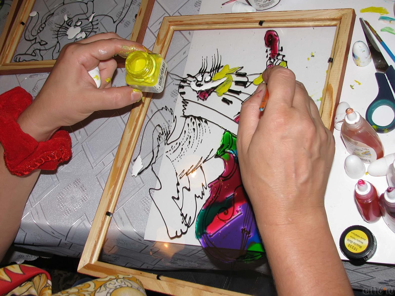 Краска по стеклу своими руками 54