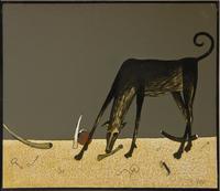 Голубцов Е.Г. 1949. Триптих «На берегу», 2001 (фрагмент)