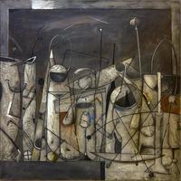Дорофеев А.И. 1954.  «Серый натюрморт» 1998