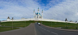 The biggest mosque in Europe, named after Seid Kul Sharif. Elena Sungatova
