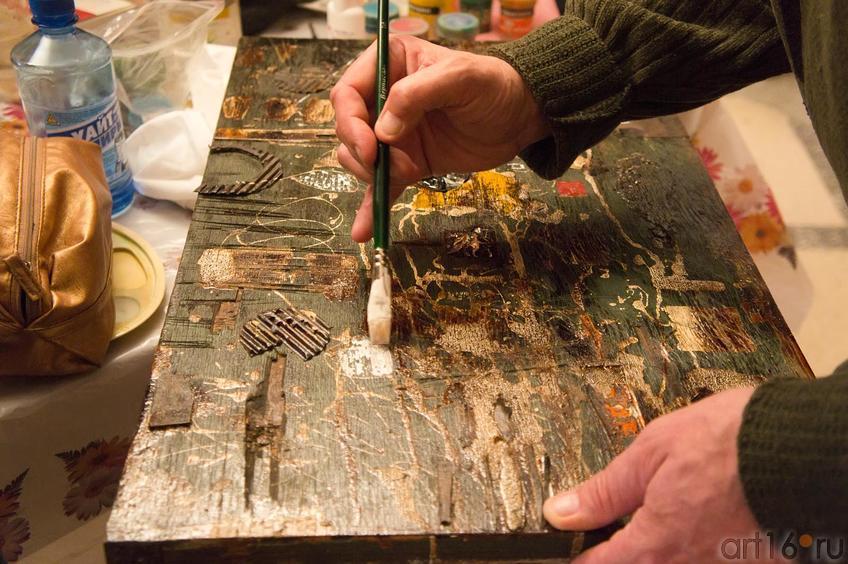 Фото №63305. Мастер – класс по абстрактной живописи А.Н.Лопткина