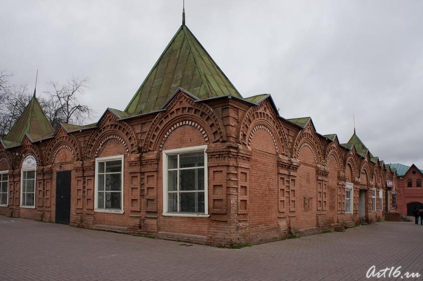 Торговые ряды::г.Клин, дом-музей П.И.Чайковского