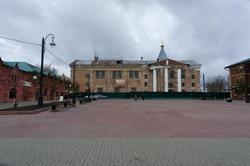 Троицкий собор. Соборная площадь