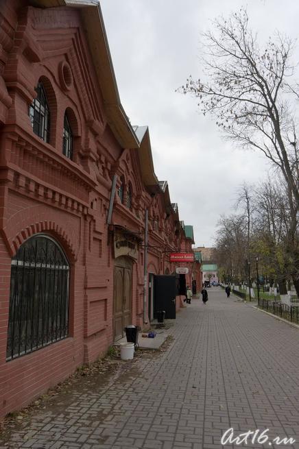 Торговые ряды в Клину::г.Клин, дом-музей П.И.Чайковского
