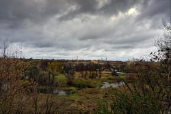 Вид на долину реки Сестры