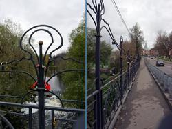 Мост через реку Сестра