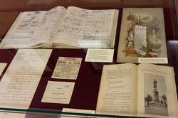 Тетрадь эскизов Чайковского (1891), Письма, меню торжественного обеда