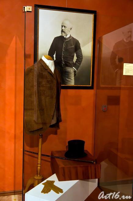 П.И.Чайковский (Париж. 1886г.) /Личные вещи П.Чайковского::г.Клин, дом-музей П.И.Чайковского
