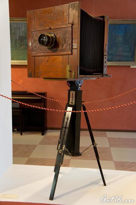 Фотокамера павильонная с объективом ʺПротар Цейсʺ::г.Клин, дом-музей П.И.Чайковского