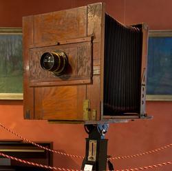 Фотокамера павильонная с объективом