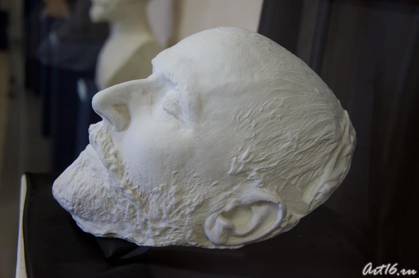 Целинский С.О. Посмертная маска П.И.Чайковского. 1893::г.Клин, дом-музей П.И.Чайковского