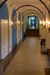 В вестибюле концертного зала П.И Чайковского (г.Клин)