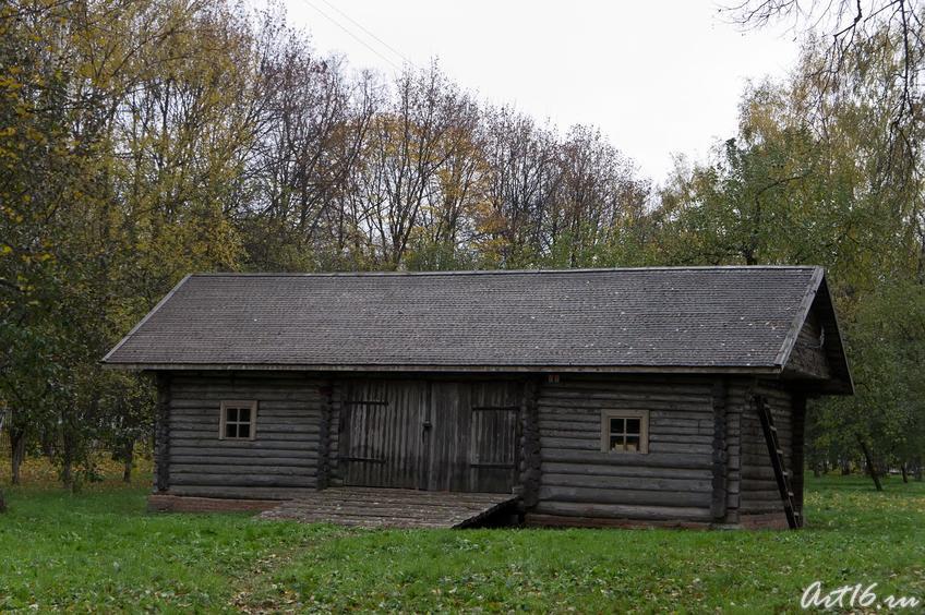 Хозяйственные постройки в парке  усадьбы ::г.Клин, дом-музей П.И.Чайковского