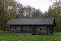 Хозяйственные постройки в парке  усадьбы
