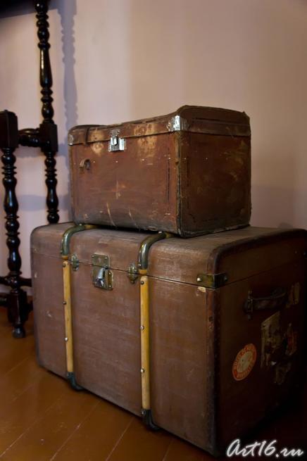 Дорожные вещи П.И.Чайковского::г.Клин, дом-музей П.И.Чайковского