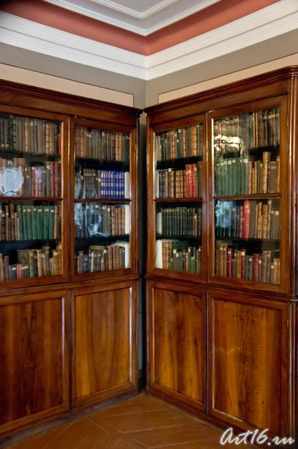 Два книжных шкафа в Доме-музее П.И.Чайковского::г.Клин, дом-музей П.И.Чайковского