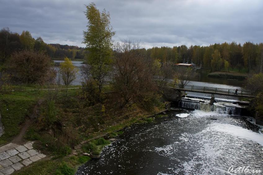 Река Сестра в Клину::г.Клин, дом-музей П.И.Чайковского
