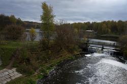 Река Сестра в Клину