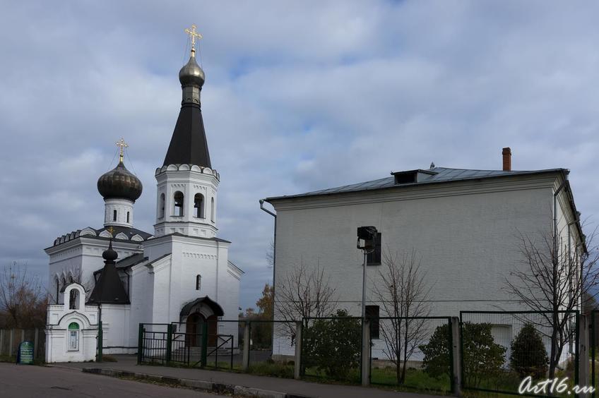 Г.Клин. Церковь Святителя Тихона::г.Клин, дом-музей П.И.Чайковского