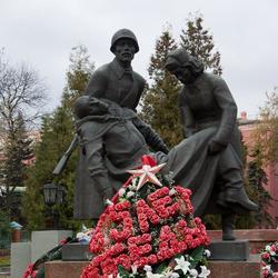 Памятник павшим в годы ВОв в Клину