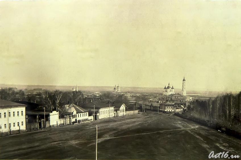 Фото №64631. Панорама Елабуги, вид с колокольни Троицкой церкви