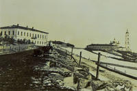 Дорога с пристани, Елабуга