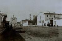 Вид на Спасский собор с ул. Спасской, Елабуга