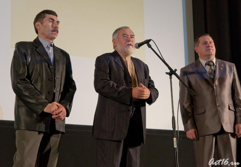 Энвер Габдрахманов, Рабит Батулла, Владимир Батраков