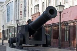 Пушка для красоты на ул Петербургской