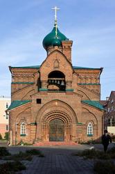 Старообрядческая Казанская церковь. Казань,  ул. Островского, 81