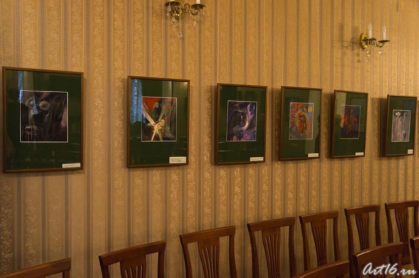 Фрагмент экспозиции выставки «Шарманки детская душа»