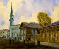 Старая Казань. Усмановская мечеть. 2005. Алсу Тимергалина