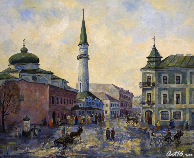 Старая Казань. Сенной базар. 2005. Алсу Тимергалина