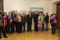 На открытии выставки Алсу Тимергалиной