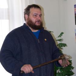 Владислав Хабаров с топором