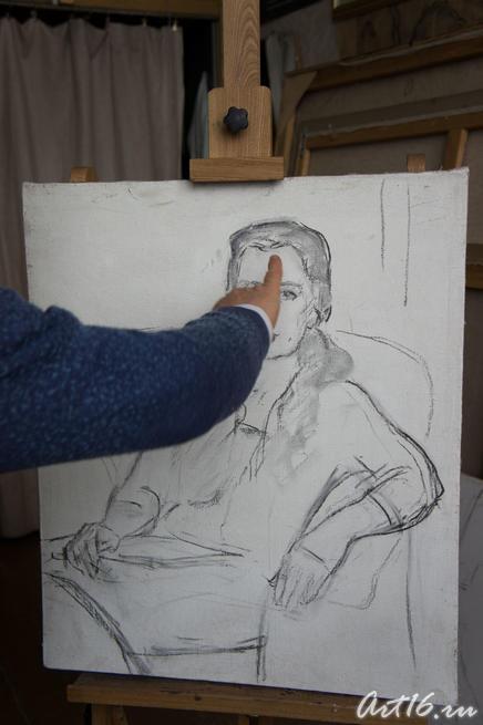 Первые штрихи 05316::Создание портрета
