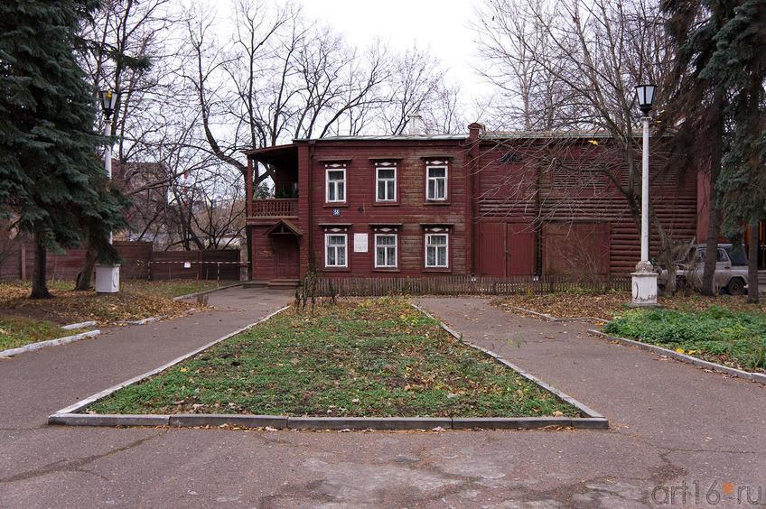 Фото №66166. Дом-музей В.И.Ленина (бывший флигель  в усадьбе Орловой)