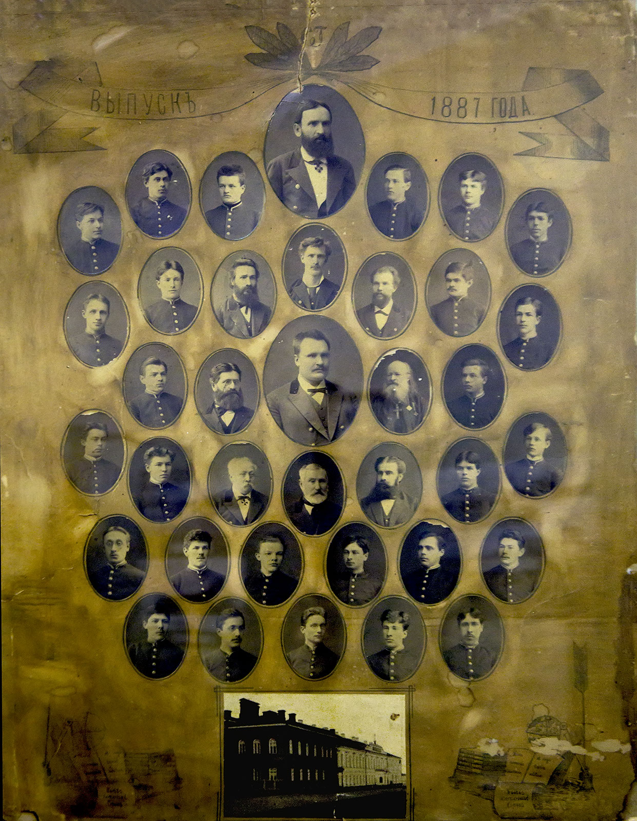 Фото №66176. Фотография. Выпуск Симбирской гимназии 1887 года