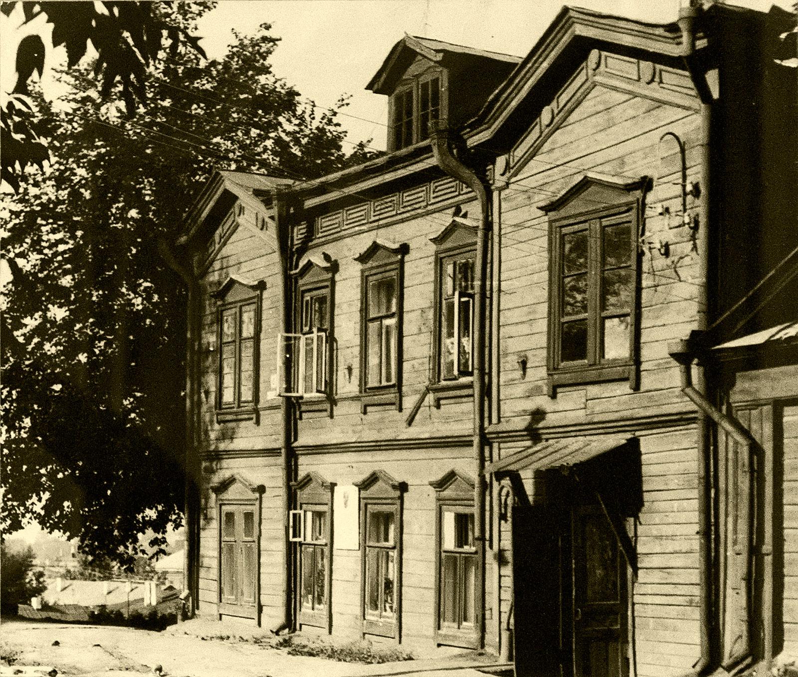 Фото №66216. Казань. Дом Завьяловой в Профессорском переулке