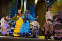 Концерт фольклорного ансамбля Бермянчек